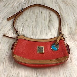 🌿DOONEY & BOURKE ORANGE & TAN BAG